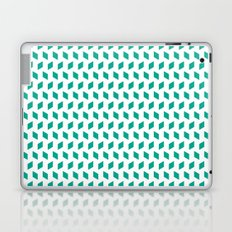 rhombus bomb in emerald Laptop & iPad Skin