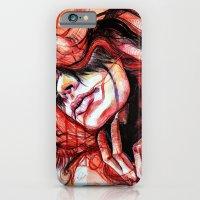 iPhone & iPod Case featuring Metamorphosis-cardinal bird by KlarEm