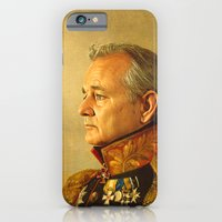 world map iPhone & iPod Cases featuring Bill Murray - replaceface by replaceface