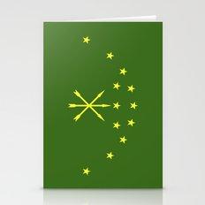 Adygea Flag Stationery Cards