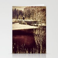 Home again-bridge Stationery Cards