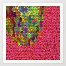 THE ALPHA CHANNEL OF GORIAN HYPERDRIVE INFORMATION  Art Print