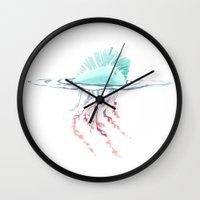 Man O' War Wall Clock
