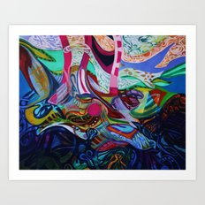 The Revealing Art Print