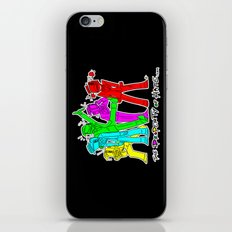 TPoH: Colourful Personality iPhone & iPod Skin
