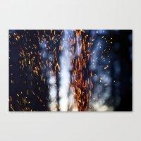 Sparks Fly Canvas Print