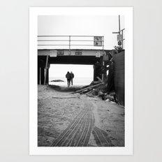 Sandy #1 Art Print