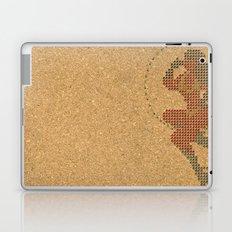 Push Pin Up Laptop & iPad Skin