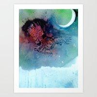 Of the Night Art Print