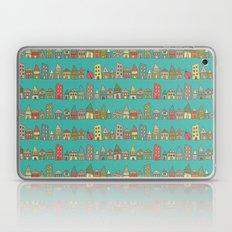 City {Housylands - teal} Laptop & iPad Skin