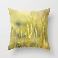 Moss Throw Pillow