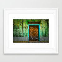 Doorways II Framed Art Print