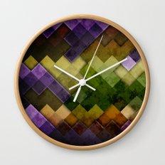 Abstract Cubes GYP Wall Clock