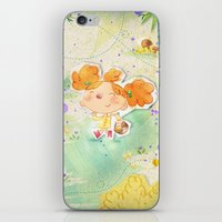 Mushroom hunt iPhone & iPod Skin