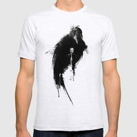 Quoth The Raven Mens Fitted Tee Ash Grey SMALL