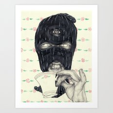 Mask 1 Art Print