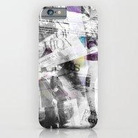 Newspaper Collage iPhone 6 Slim Case
