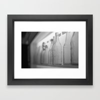 Longneck Bottle Framed Art Print