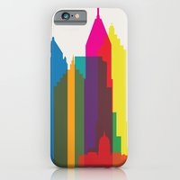 iPhone & iPod Case featuring Shapes of Atlanta. Accurate to scale by Glen Gould