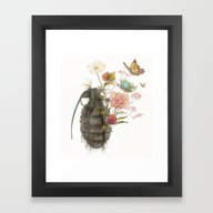 Containability To Sustai… Framed Art Print