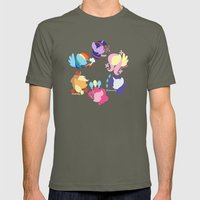 Mane Six Mens Fitted Tee Lieutenant SMALL