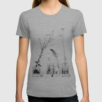 Do You Know Me? Womens Fitted Tee Athletic Grey SMALL
