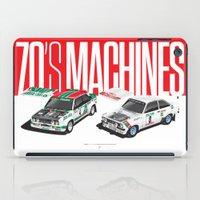 70's Machines iPad Case
