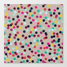 Confetti #2 Canvas Print