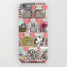 weird pickles coral Slim Case iPhone 6s