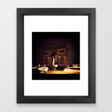 L'Arc de Triomphe  Framed Art Print