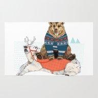 Bear Sleigh Rug