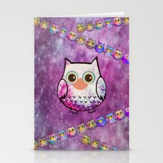 owl-808 Stationery Cards