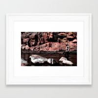 Serenity And Solitude Framed Art Print