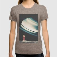 Terminal Womens Fitted Tee Tri-Coffee SMALL
