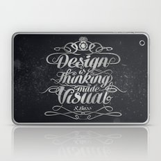 Design is.... Laptop & iPad Skin