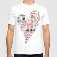 Shakespeare's Romeo And … Mens Fitted Tee White SMALL