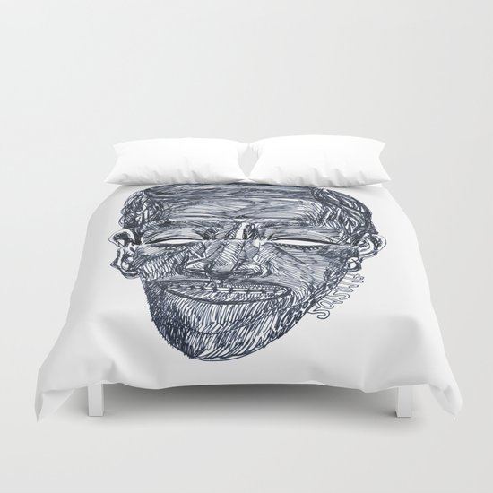 "«20120117» or ""Anywhere Face"" Duvet Cover"
