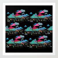 Candy Mountains Over Lol… Art Print