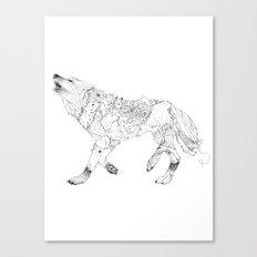 Wilderness Wolf Canvas Print