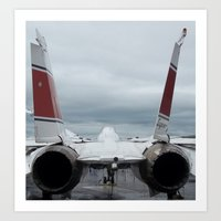 Tom Cat, Fighter Jet Art Print