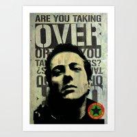 Joe Strummer Tribute Art Print