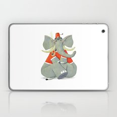 Elephant with Fez Smoking a Pipe Laptop & iPad Skin