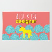 Design and Be Awesome! Rug
