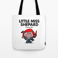 Little Miss Shepard Tote Bag