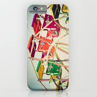 iPhone & iPod Case featuring Colorful Ferris Wheel Cars by Eye Shutter to Think