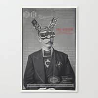 Mr Tri-Vision Canvas Print