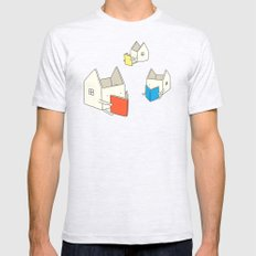 Every house has it's own story Mens Fitted Tee Ash Grey SMALL