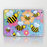 Busy Buzzers. Laptop & iPad Skin