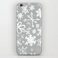 Snowflake Concrete iPhone & iPod Skin