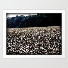 yup,more cotton Art Print